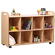 PlayScapes 4 Column Shelf Storage Unit