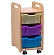PlayScapes Single Column Variety Tray Storage Unit