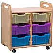 PlayScapes 2 Column Variety Tray Storage Unit