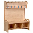 PlayScapes Freestanding Cloakroom Units
