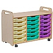 PlayScapes 3 Column Variety Tray Storage Unit
