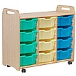 PlayScapes Triple Column Variety Tray Storage Unit