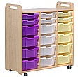 PlayScapes 3 Column Variety Tray High Storage Unit