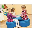 PlayScapes Soft Table With Soft Rocker Seats