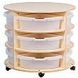 PlayScapes High Circular Storage Unit