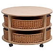 PlayScapes Low Circular Storage Unit