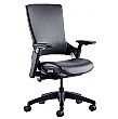 Lucas Medium Back Leather Task Chair