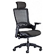 Lucas Mesh Back Task Chair With Headrest