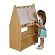 Double Sided Wooden Easel
