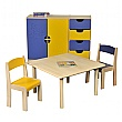 Classroom Square Writing Table