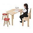 Classroom Trapezoid Writing Table