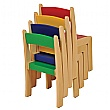 Classroom Stackable Chairs (Pack Of 4)