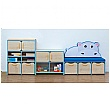 Nature Storage Set - Blue Hippo