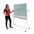 Write-On Glass Revolving Whiteboard