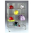 Personal Effects Wire Mesh Lockers Without Doors