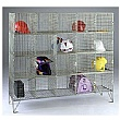 Personal Effects Wire Mesh Lockers With Doors