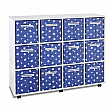 12 Jumbo Star Canvas Tray Storage