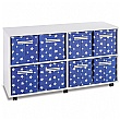 8 Jumbo Star Canvas Tray Storage