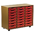 Essentials Mobile 24 Tray Storage Unit