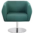 Sven HB1D Disc Base Fabric Reception Chairs