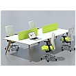 Sven Ligni 4 Person Back to Back Bench Desk