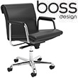Boss Design Delphi Low Back Swivel Chair