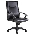 Farnborough Leather Faced Manager Chairs