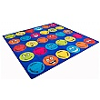 Emotions Interactive Square Carpet