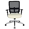Parity Mesh Task Chairs - Cream