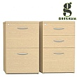 Gresham Desk High Pedestals