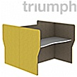Triumph Double Wave Phonic Acoustic Back To Back 2 Person Pods