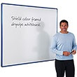 Coloured Frame Shield Whiteboard