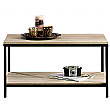 Foundry Industrial Style Coffee Table- Charter Oak