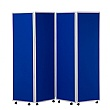 Concertina 4 Panel Mobile Room Dividers 1800H