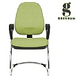 Gresham Platinum Plus Round Cantilever Chair