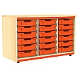 Splash Triple Column 18 Tray Storage Unit