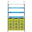 Gratnells Callero Combination Storage Unit With Shallow Trays
