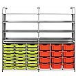 Gratnells Callero Variety Tray Storage Unit With Shallow and Deep Trays