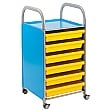 Gratnells Callero A3 Paper Storage Trolley With Trays