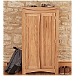 Addison Solid Oak Shoe Storage Cupboard
