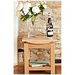 Addison Solid Oak Lamp Table