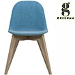 Gresham LC11 Wooden 4 Leg  Upholstered Chair