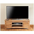 Addison Solid Oak Widescreen Television Cabinet