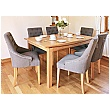 Addison Solid Oak Large Dining Table