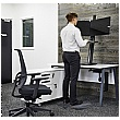 I-Stand Desktop Sit/Stand Workstation With Dual Monitor Support