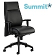 Summit Essence Executive Leather Chair