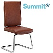 Summit Impact Leather Visitor Chair