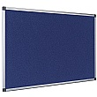 Bi-Office Aluminium Framed Felt Noticeboards