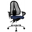 Topstar Sitness 15 Black Mesh Office Chair