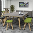 Artemis Edge Compact Rectangular Boardroom Tables